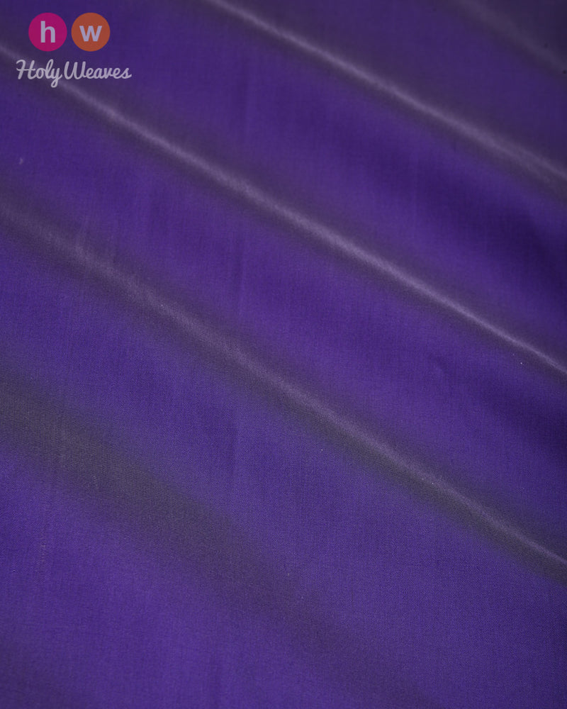 Amethyst Plain Satin Viscose Silk Fabric- HolyWeaves
