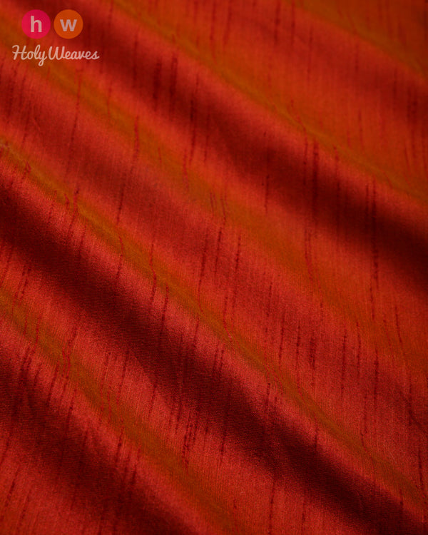 Garnet Slub Waterfall Plain Woven Poly Dupion Fabric for Furnishings, Handicrafts etc - HolyWeaves