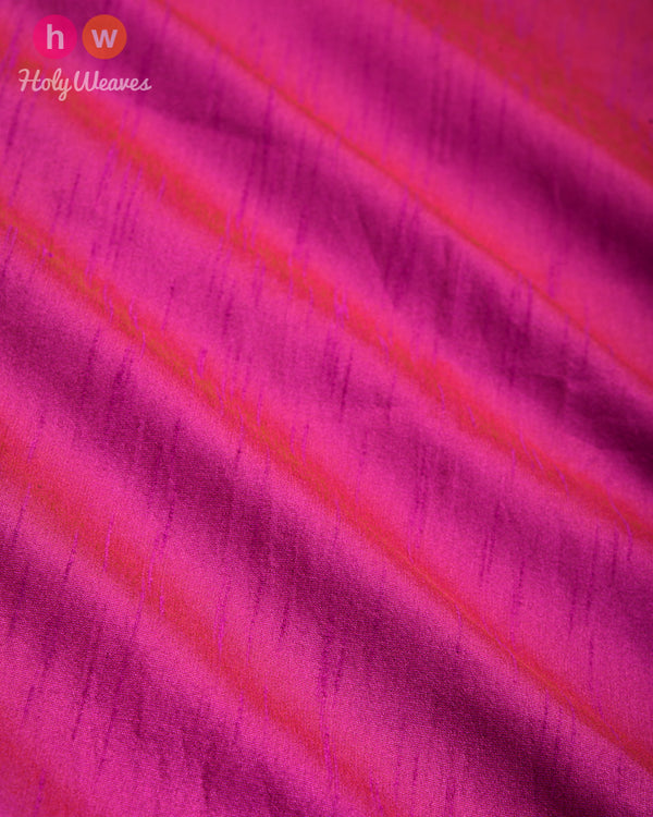 Purple Slub Waterfall Plain Woven Poly Dupion Fabric- HolyWeaves