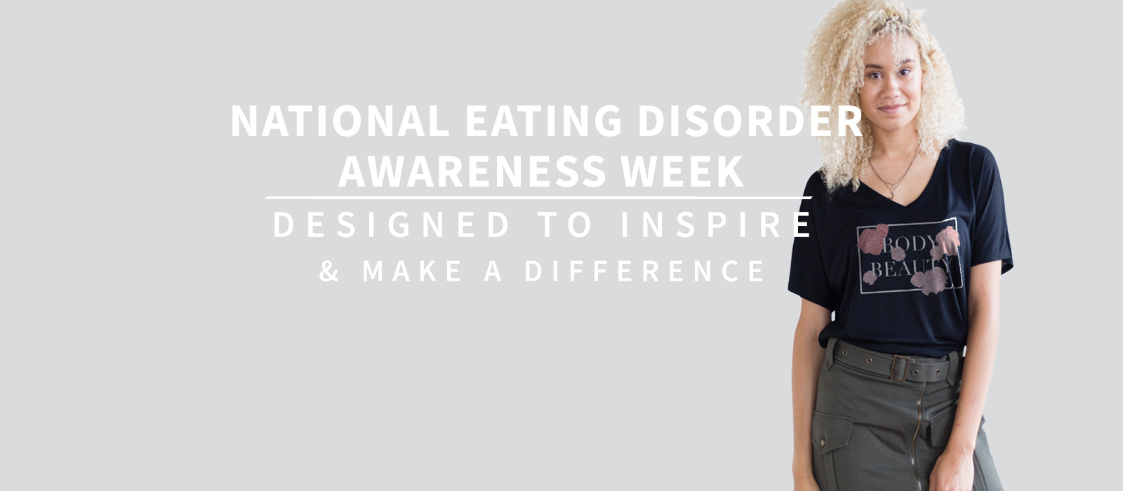 NEDA National Eating Disorder Association Awareness Week
