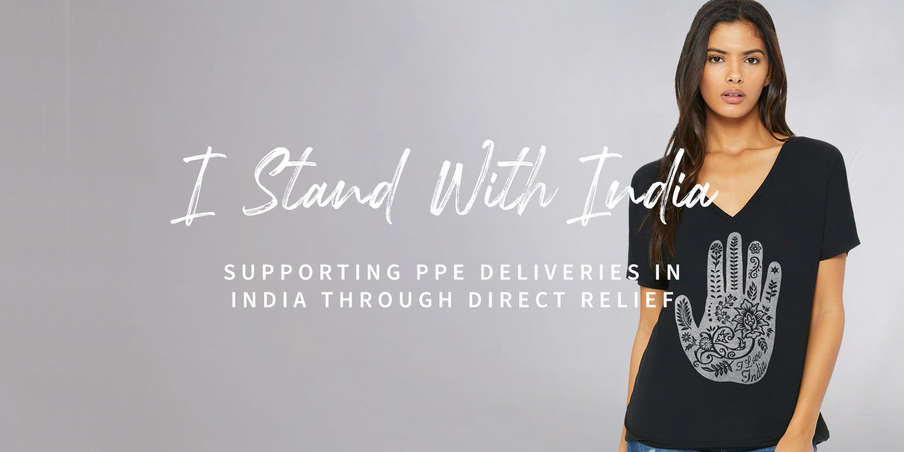 sevenly sevenly.org I stand with India for PPE personal protective equipment