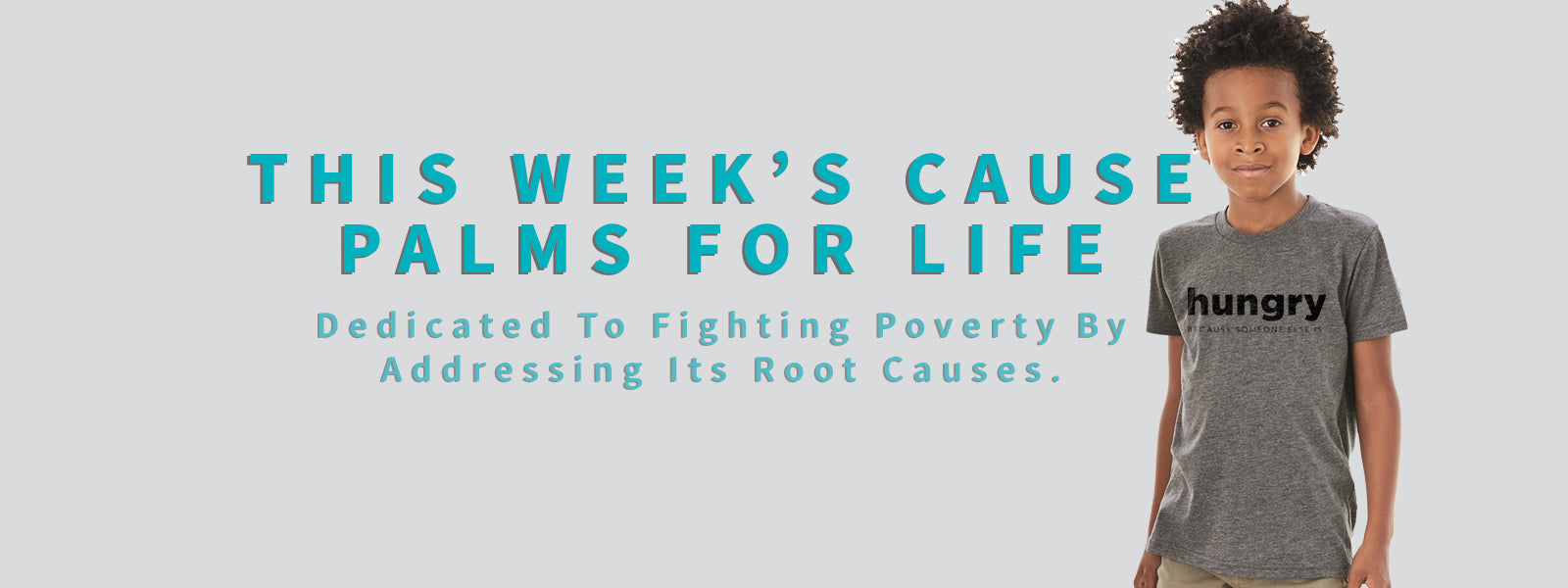 Sevenly.org Weekly Cause Partner Palms For Life Fund - dedicated to fighting poverty by addressing its root causes