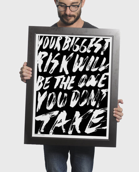 Risk Brush Print