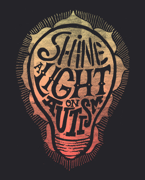 Shine A Light On Autism Flowy V Neck