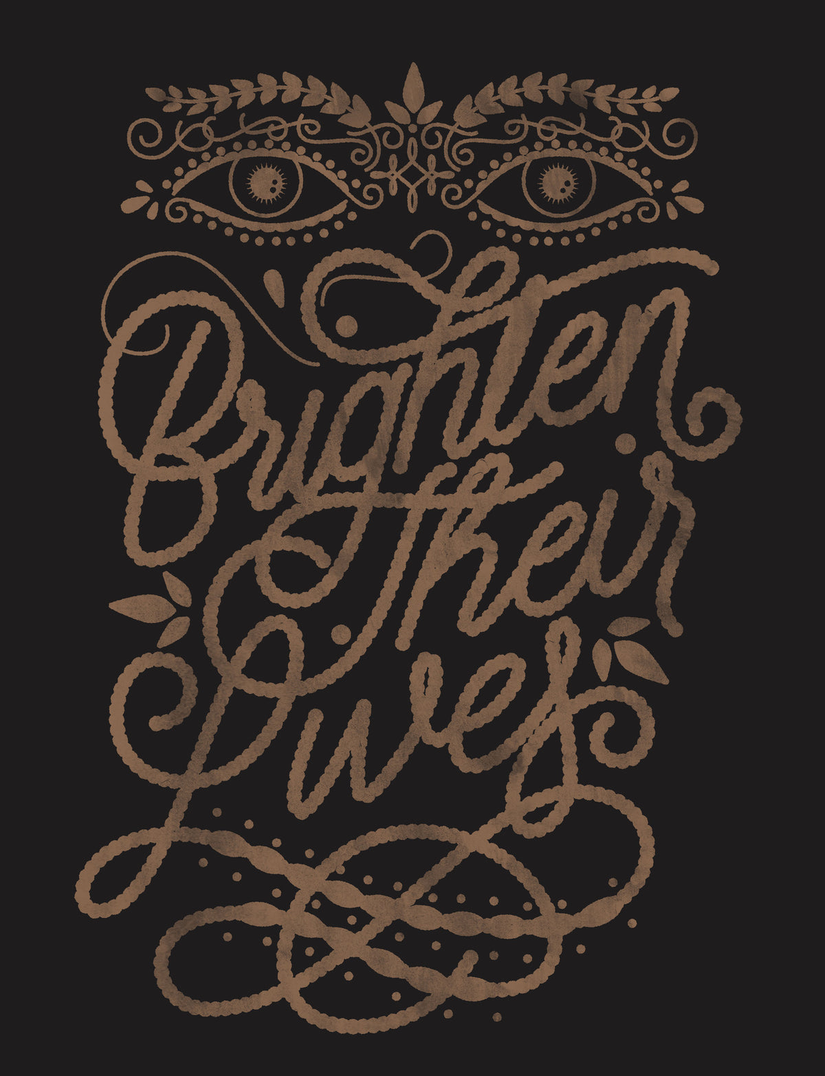 Brighten Their Lives Triblend Short Sleeve Tee