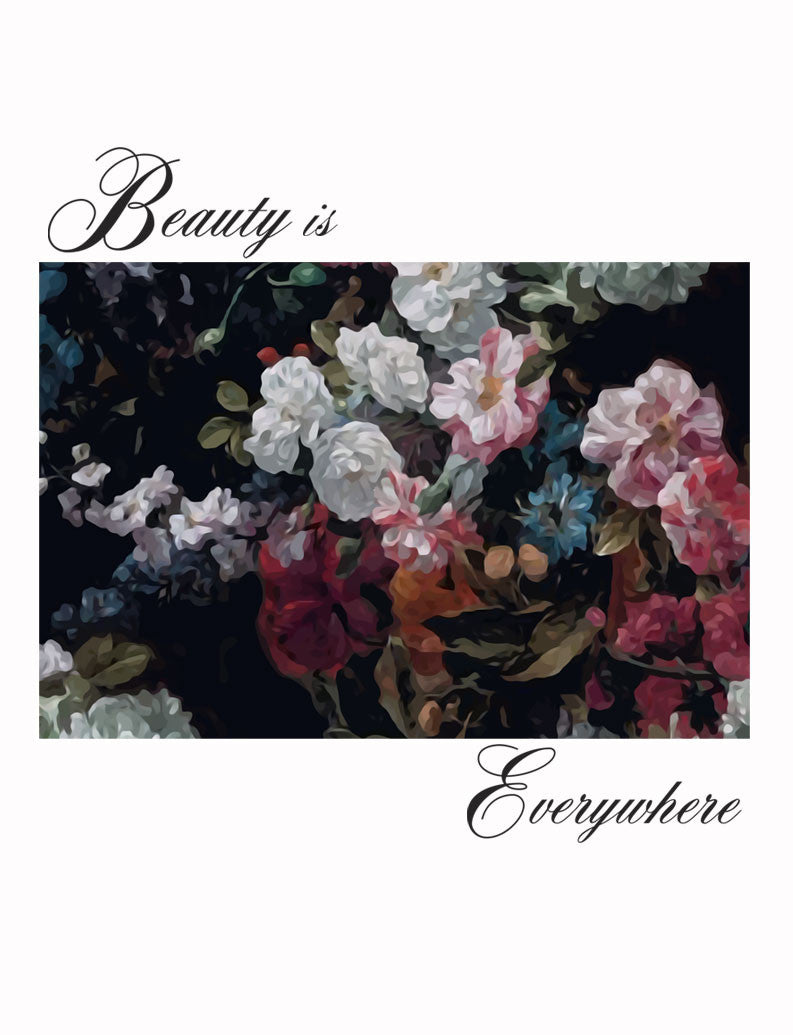 Beauty Is Everywhere Poly Cotton Crew