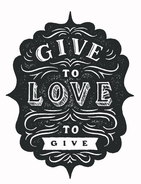 Give To Love Racerback Tank