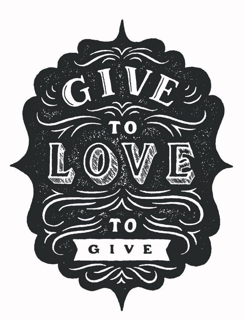 Give To Love Tee