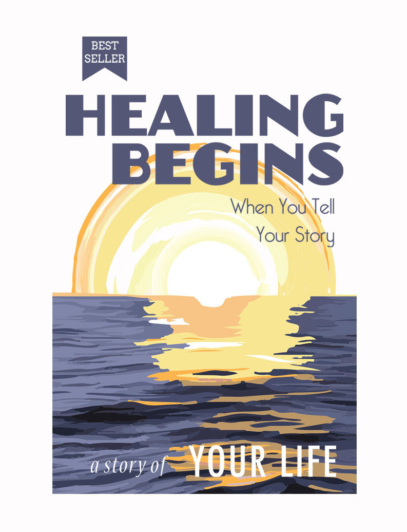 Healing Begins Triblend Short Sleeve Tee