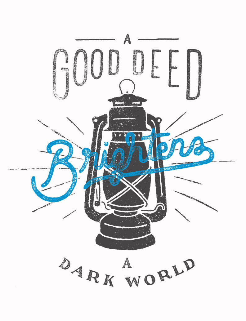 Good Deed Womens Baseball Tee