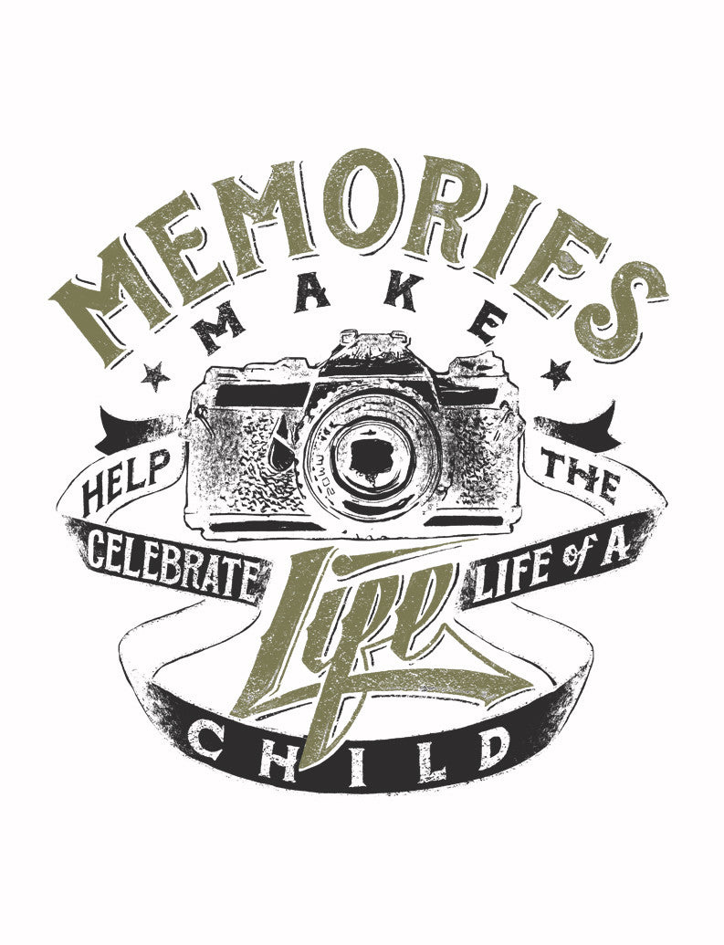 Memories Make A Life Triblend Short Sleeve Tee