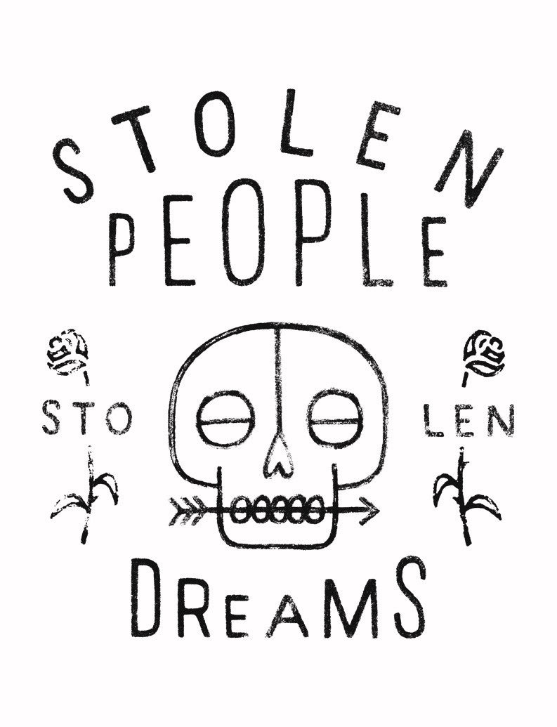 Stolen People Flowy Raglan