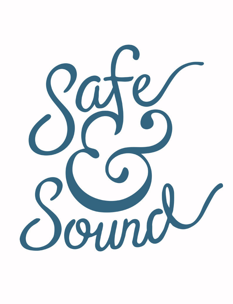 Safe and Sound Triblend Short Sleeve Tee