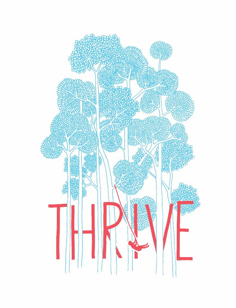 Thrive Flowy Long Sleeve Tee