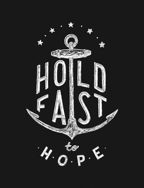 Hold Fast Youth Vintage Baseball T Shirt