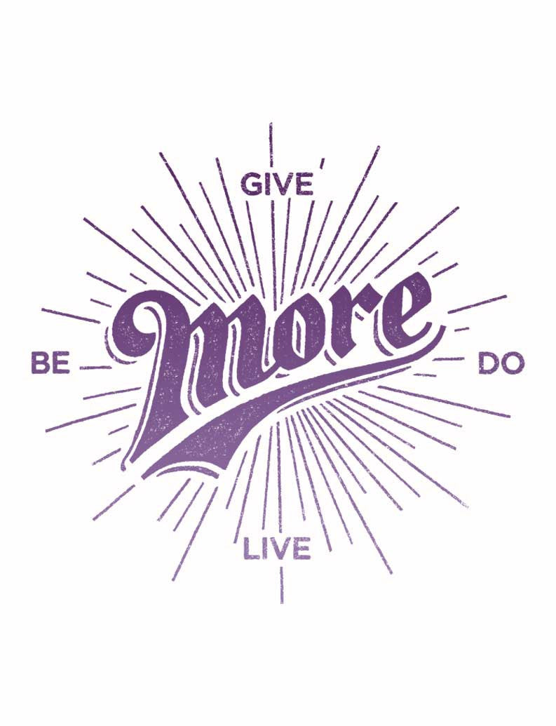 Give More Triblend Short Sleeve Tee