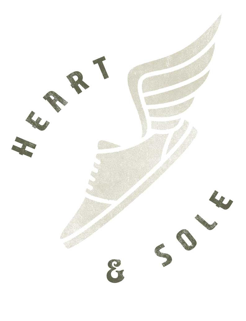 Heart and Sole Mens Baseball Tee