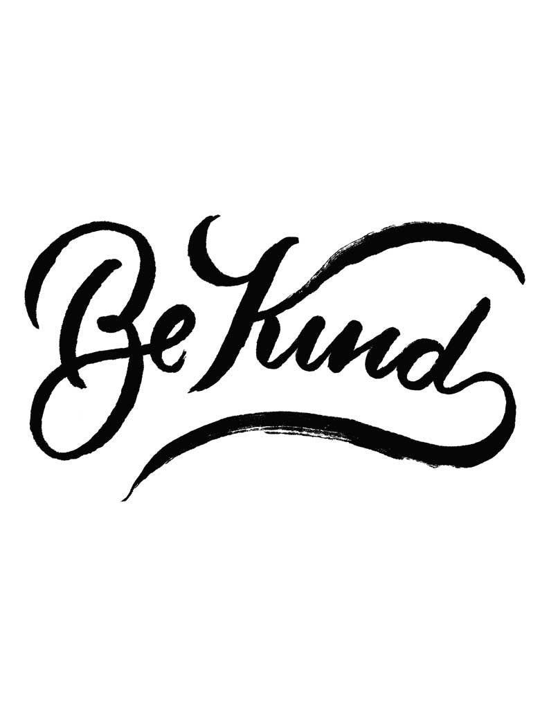 Be Kind Triblend Racerback Tank