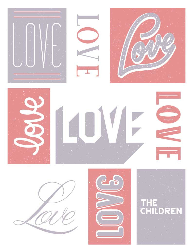 Love The Children Tee