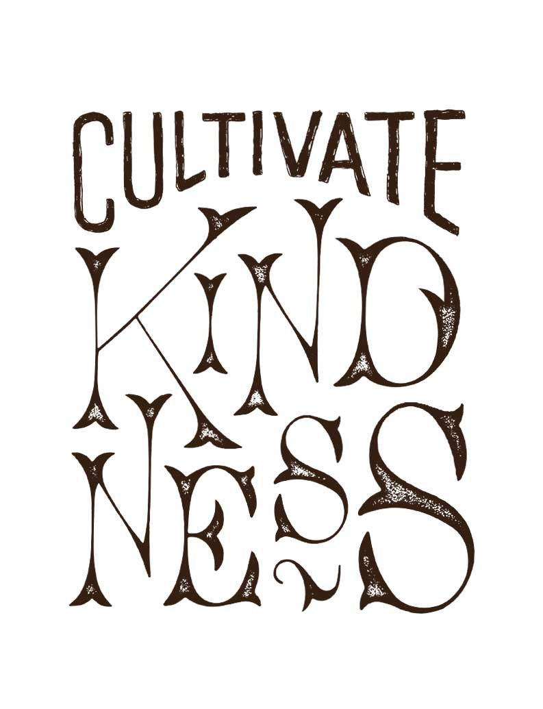 Cultivate Kindness Flowy V Neck