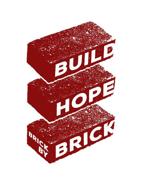 Build Hope Brick By Brick Tee