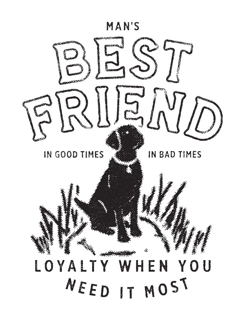 Best Friend Mens Baseball Tee