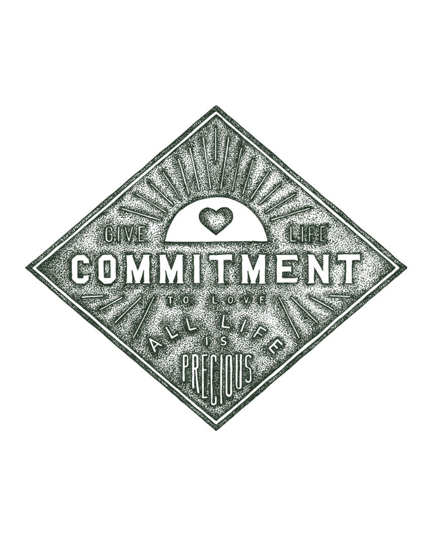 Commitment Triblend Racerback Tank