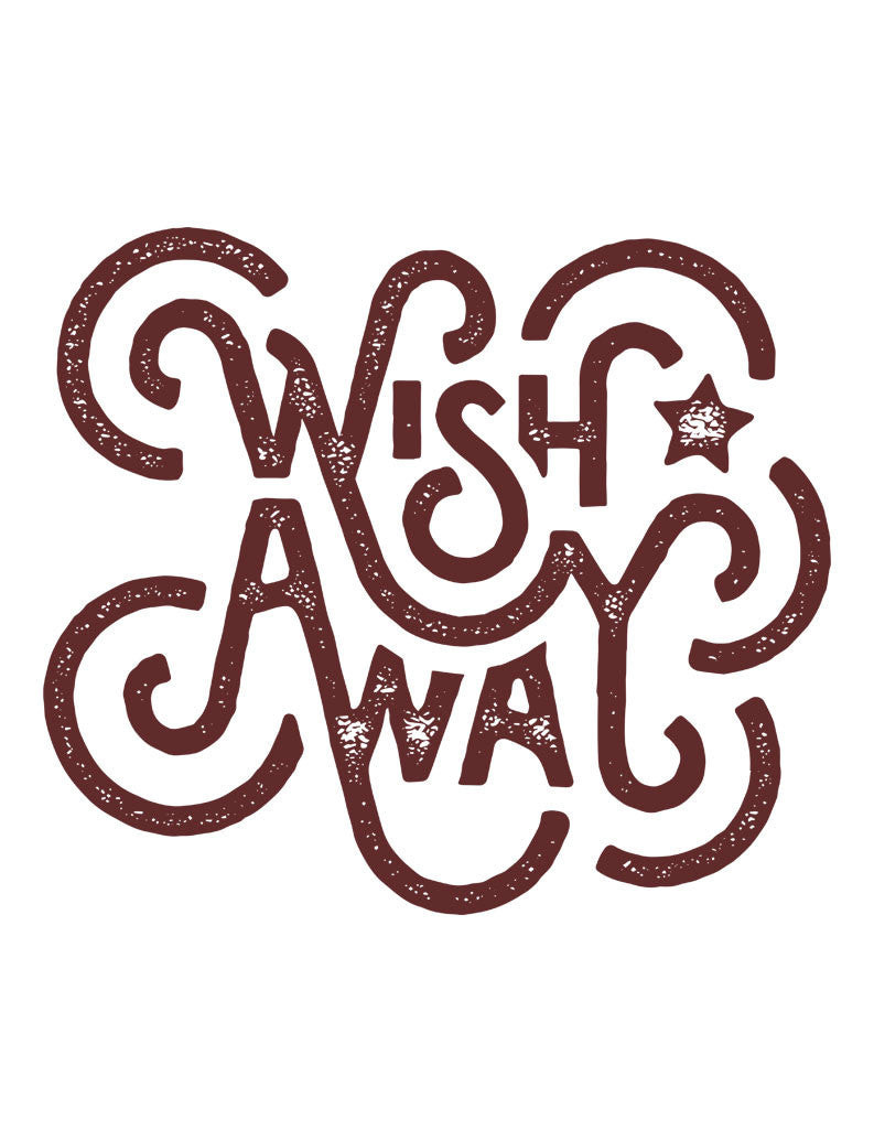 Wish Away Triblend Racerback Tank