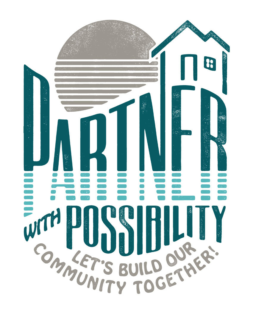 Partner With Possibility Triblend Racerback Tank