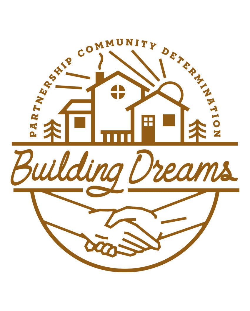 Building Dreams Triblend Racerback Tank