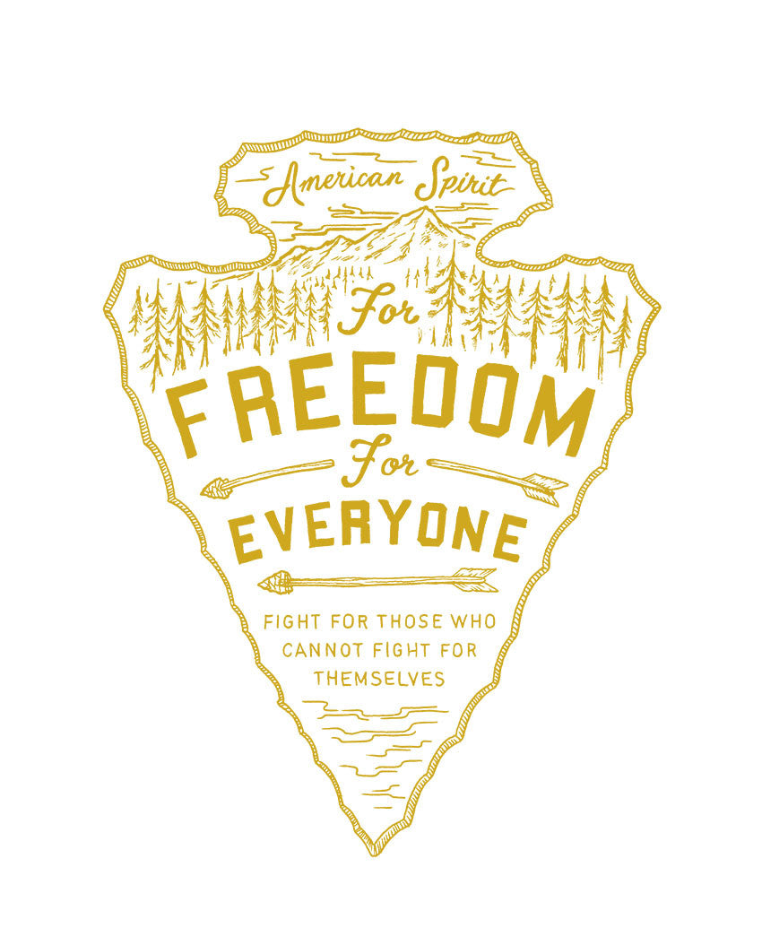 Freedom For Everyone Triblend Racerback Tank