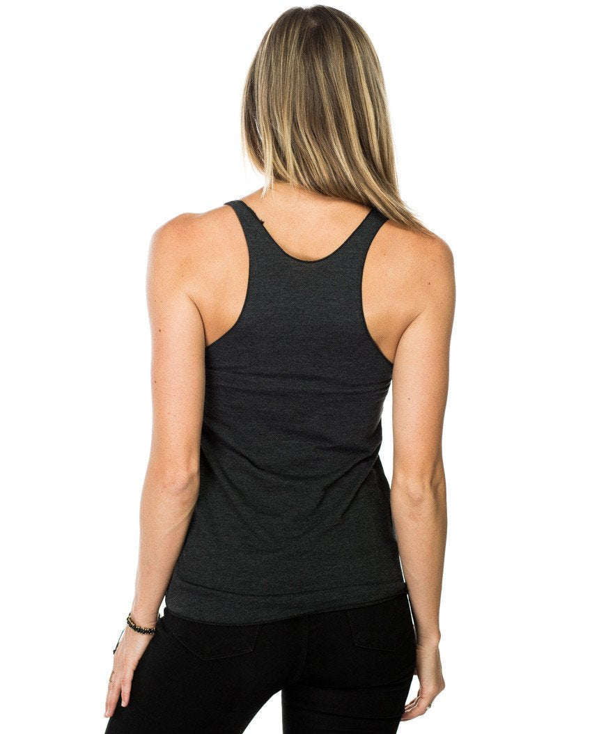 The Gym Is Calling Fitted Racerback Tank