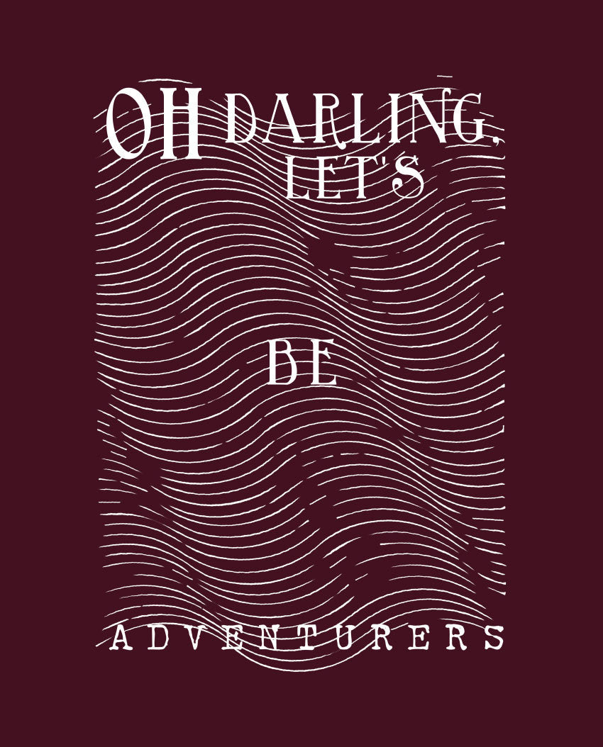 Oh Darling Fitted Tee