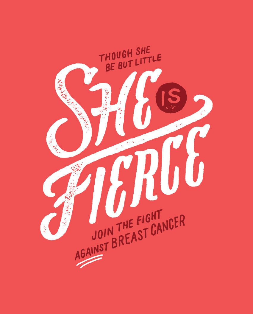 She Is Fierce Flowy Raglan