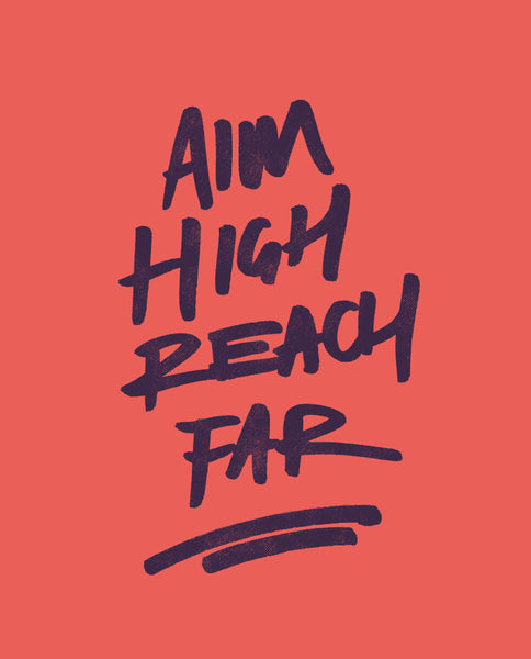 Aim High Fitted Racerback Tank