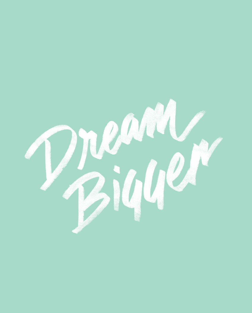 Dream Bigger Flowy V Neck