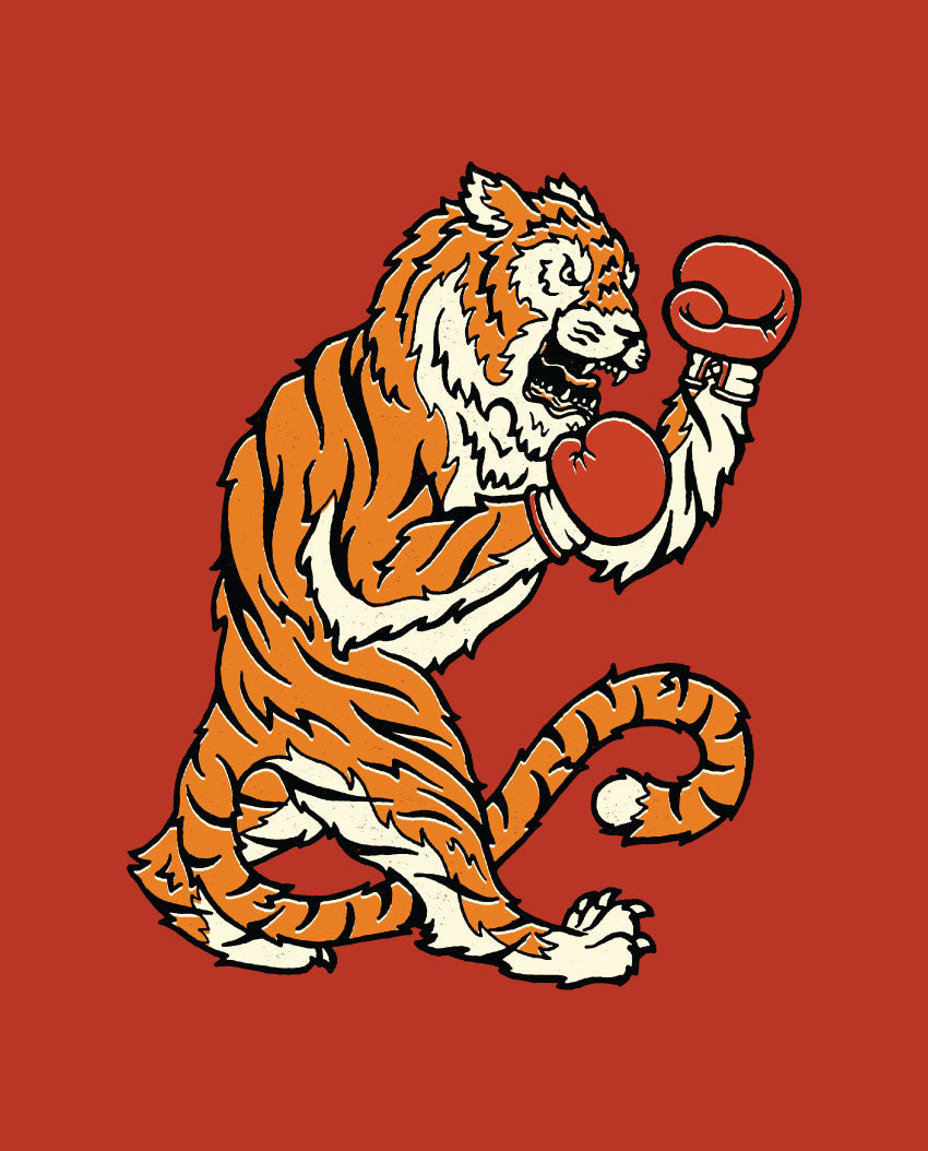 Fighting Tiger Tee