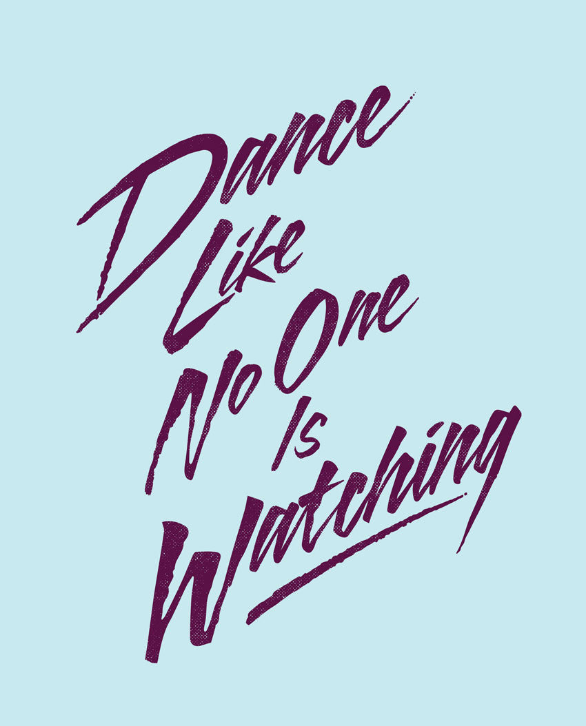 Dance Like No One Is Watching Flowy V Neck