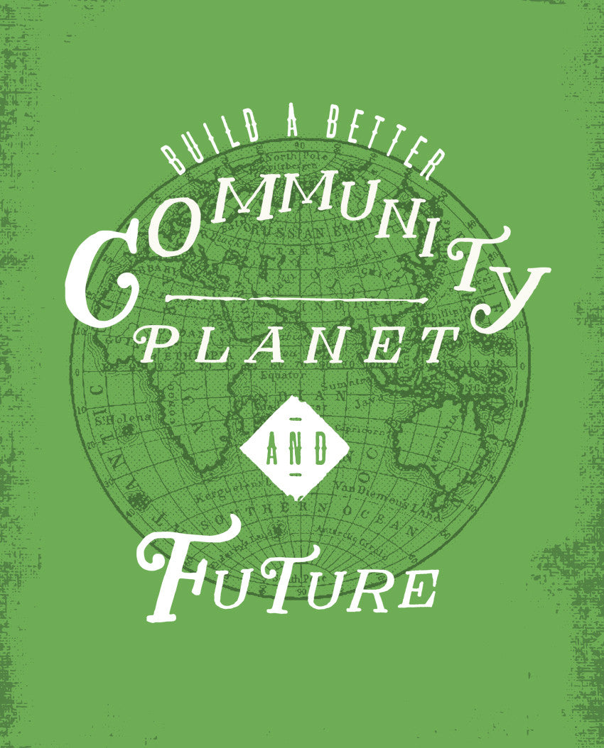Build A Better Community Triblend Short Sleeve Tee