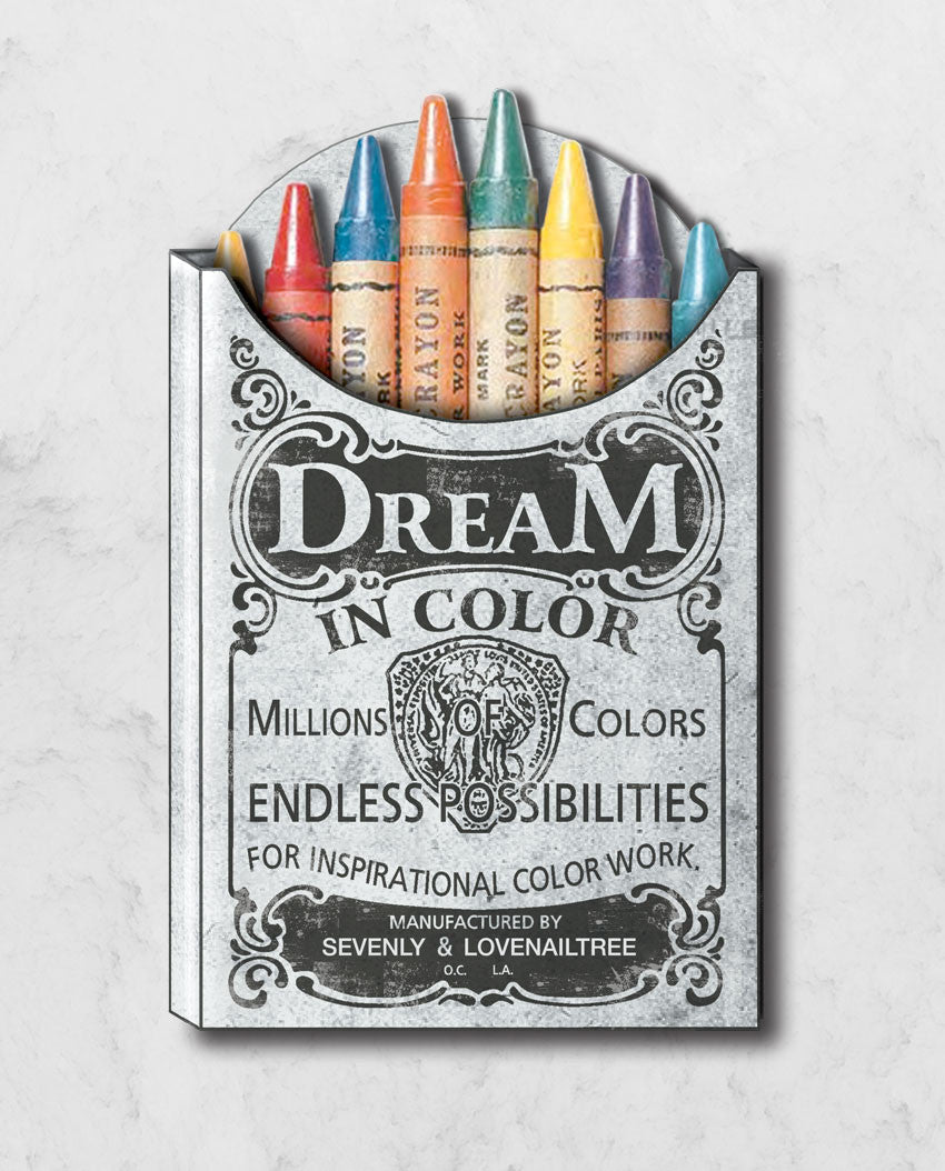 Dream In Crayola Flowy V Neck