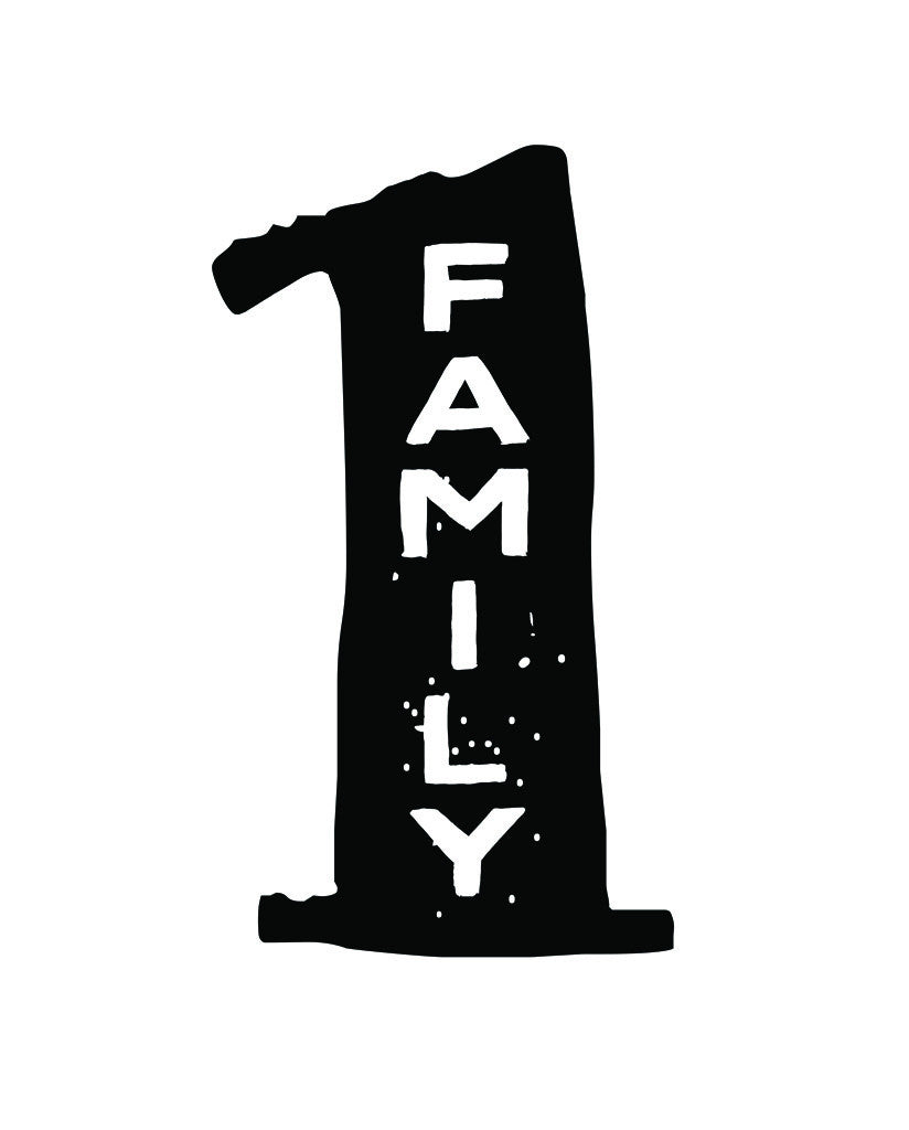 1 Family Unisex Triblend Short Sleeve Tee