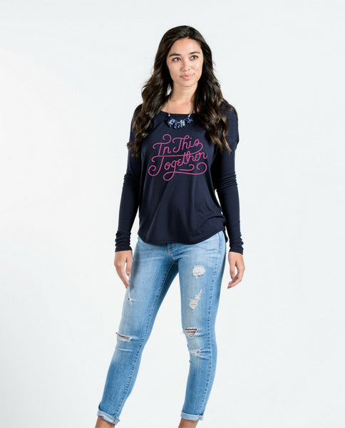In This Together Flowy Long Sleeve Tee