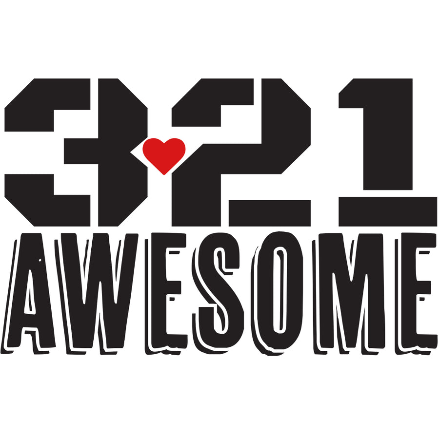 3.21 AWESOME - Men's Premium Tri-blend Short Sleeve Tee