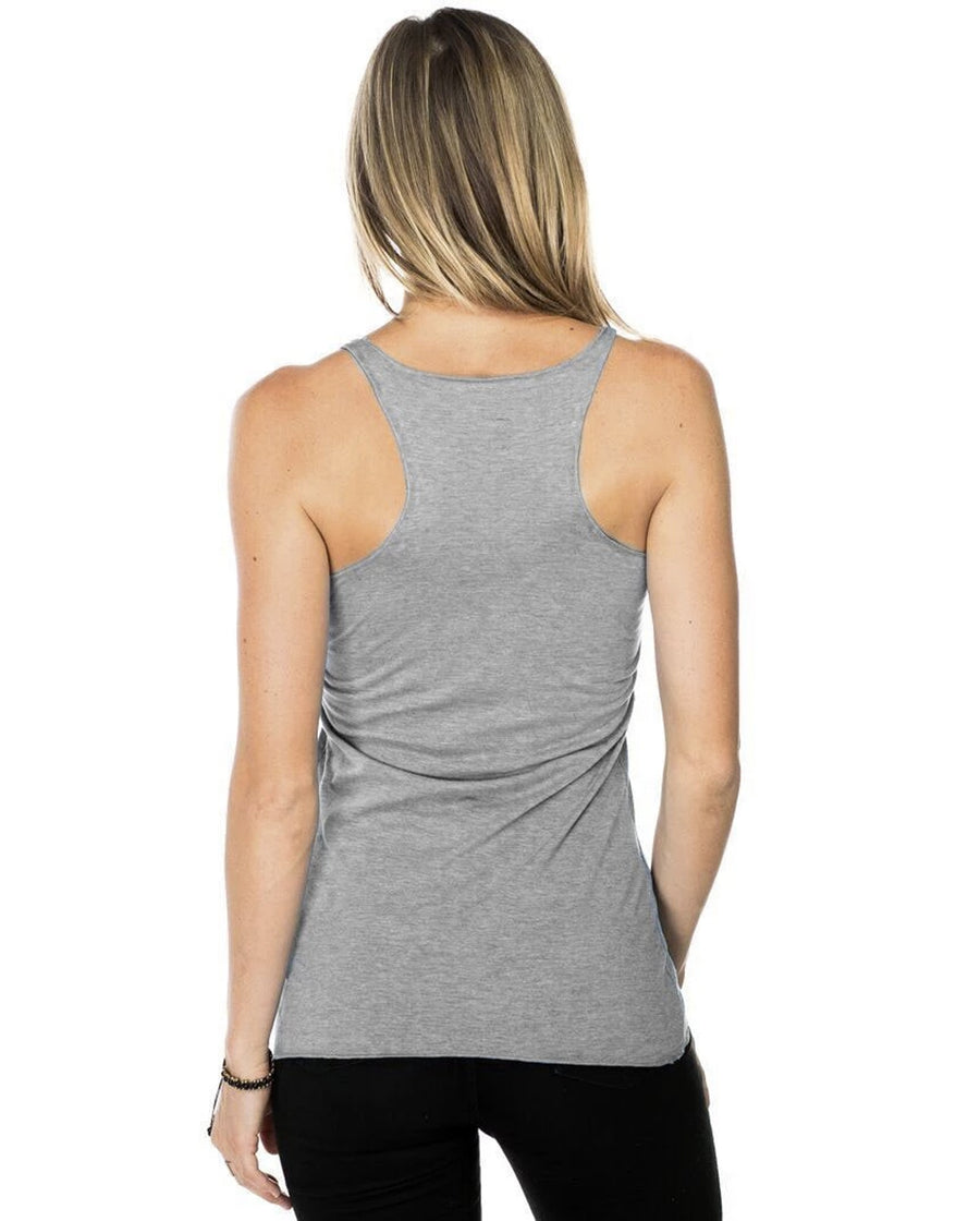 Retreat Revive Reciprocate Beyond The Gym Well Co. Women's Triblend Racerback Tank