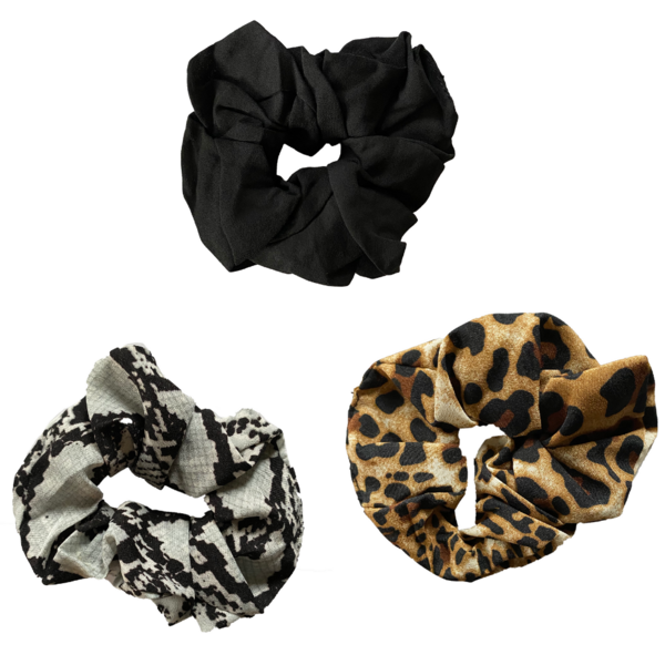 ANIMAL PRINT SCRUNCHIE SET by Headbands of Hope