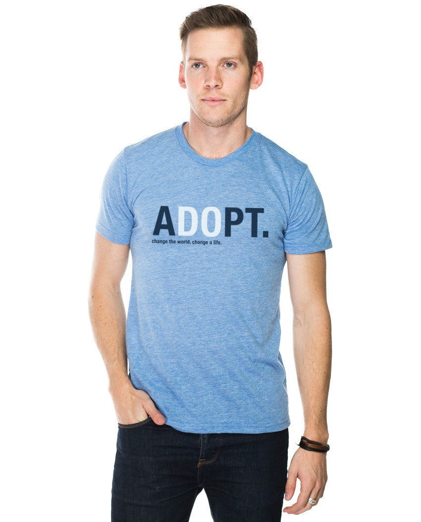 aDOpt Fitted Tee