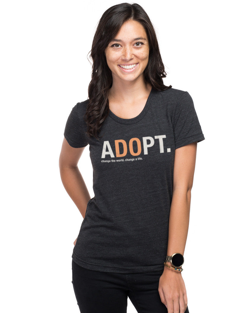 aDOpt Triblend Short Sleeve Tee