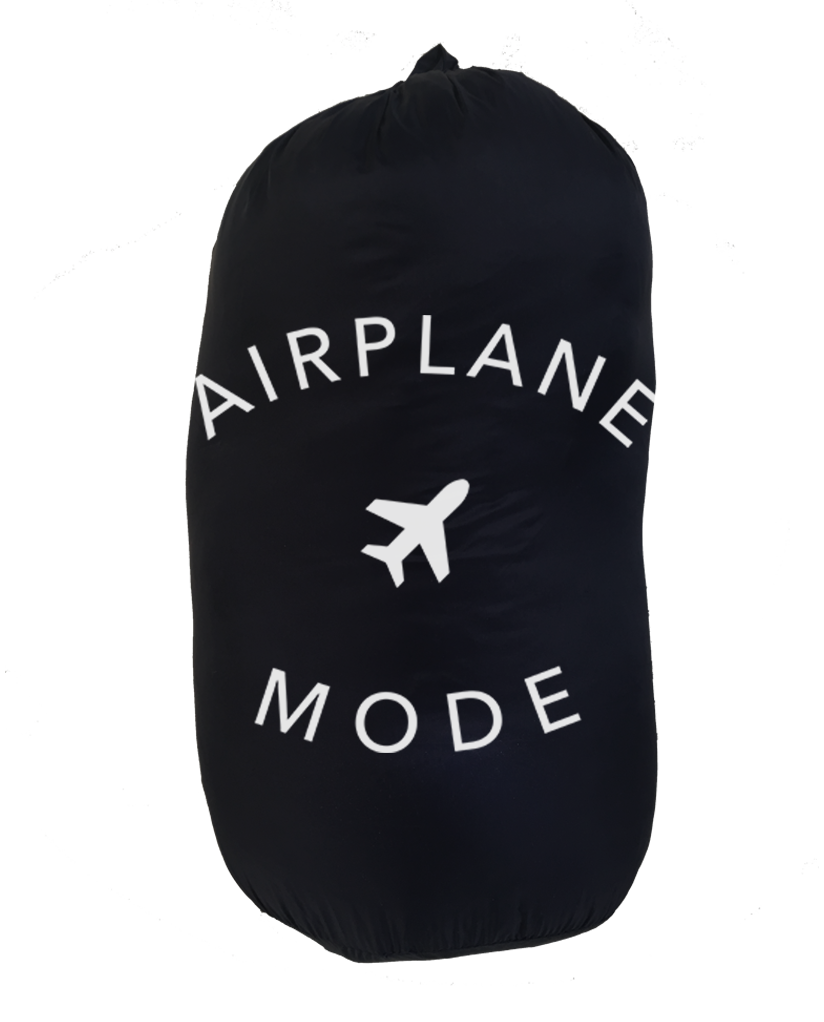 AIRPLANE MODE Weatherproof Down Puffer Packable Blanket