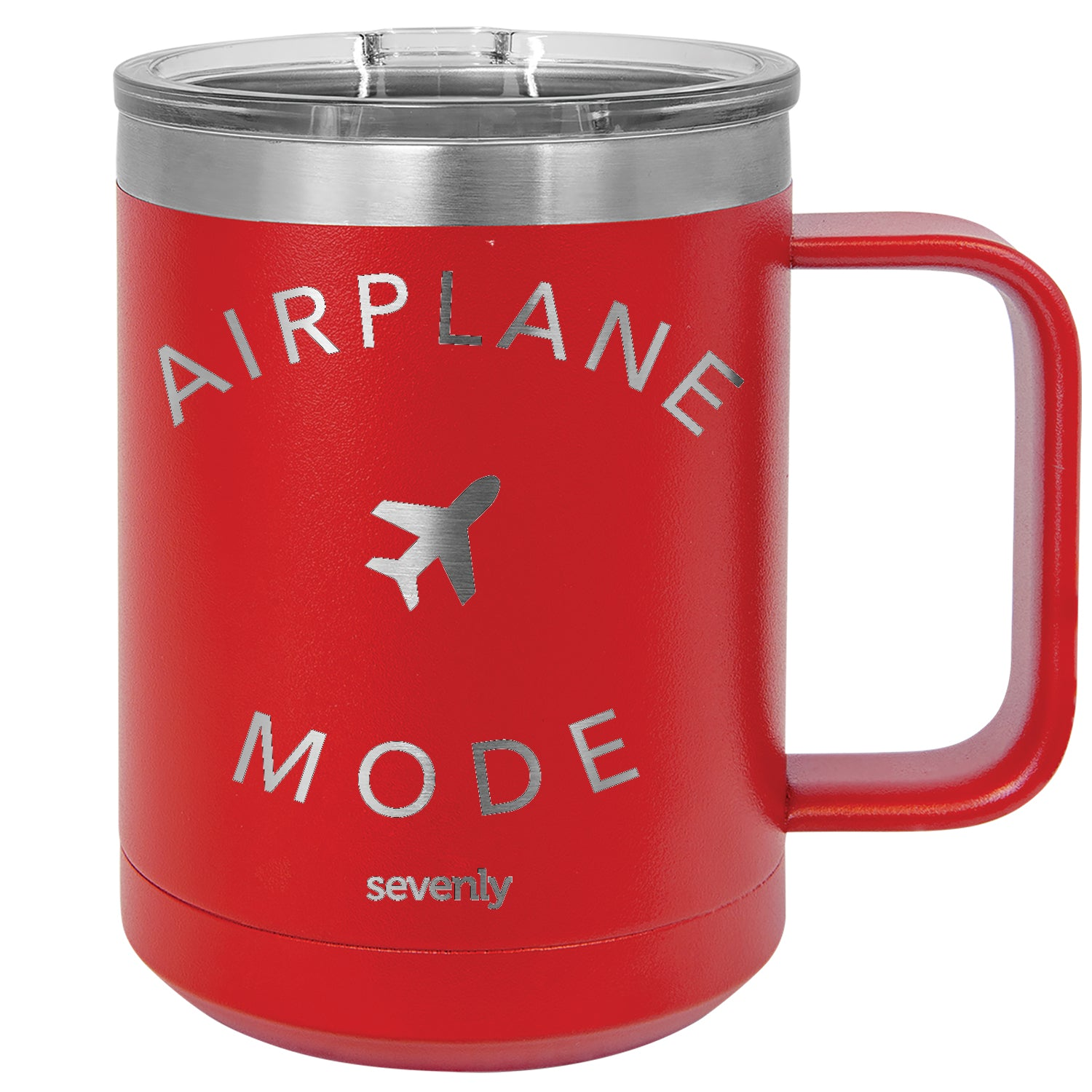 Airplane Mode Insulated Mug Drinkware