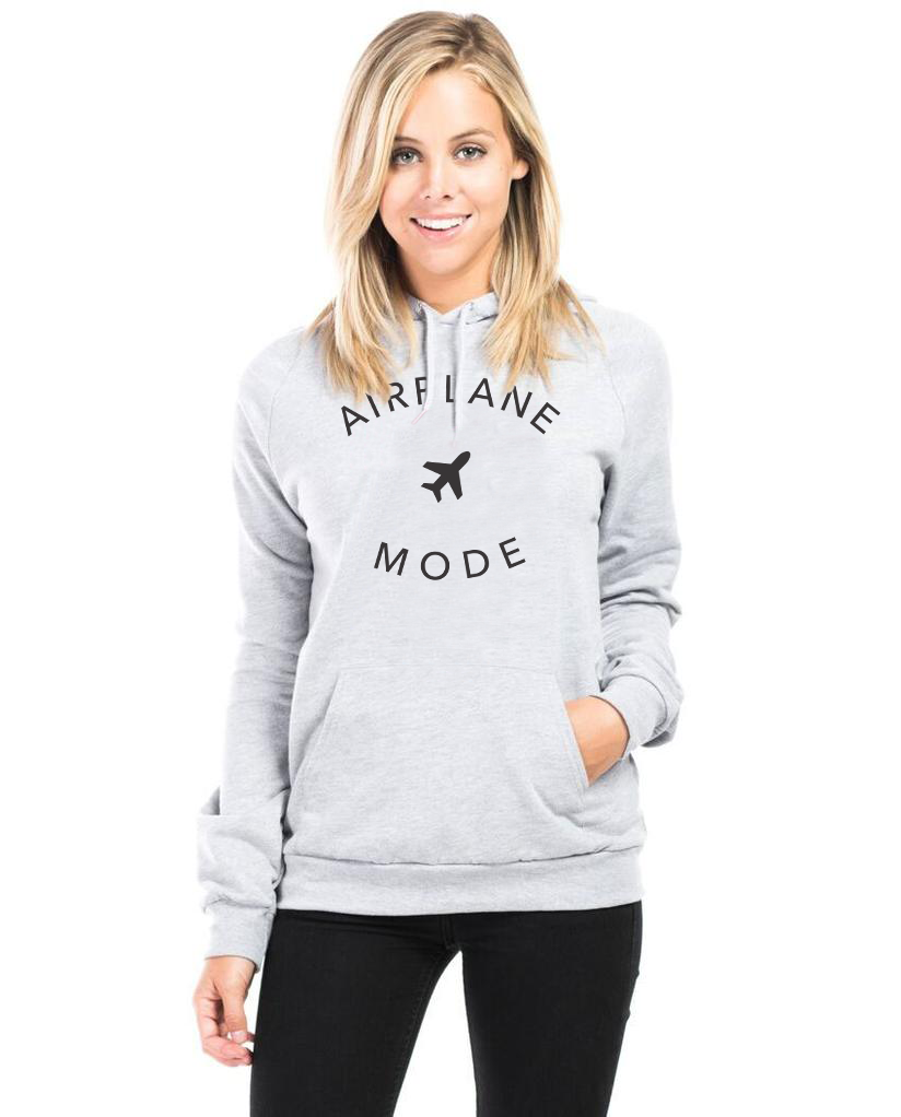 Airplane Mode - Women's Raglan Hoodie
